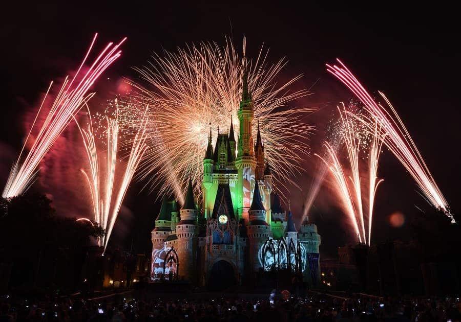 Disney Halloween Fireworks show