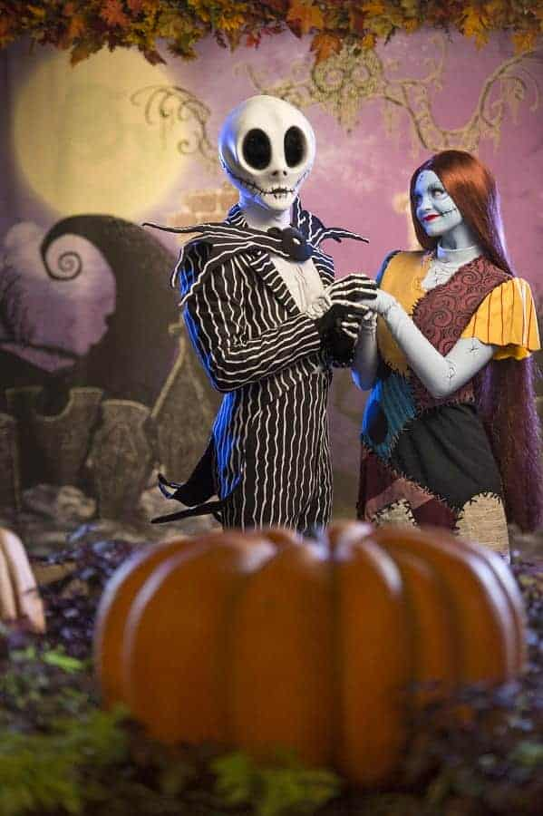 Jack Skellington Meet & Greet at Halloween Party