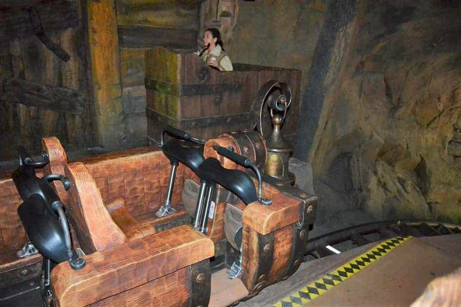 Front of Mine Train Cart