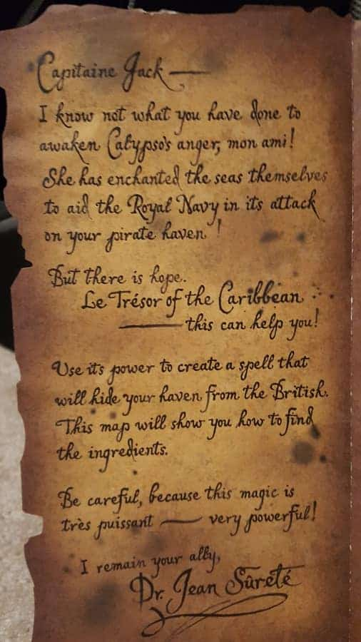 Pirate Adventure Letter