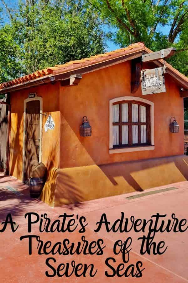 A Pirate's Adventure Treasures of the Seven Seas
