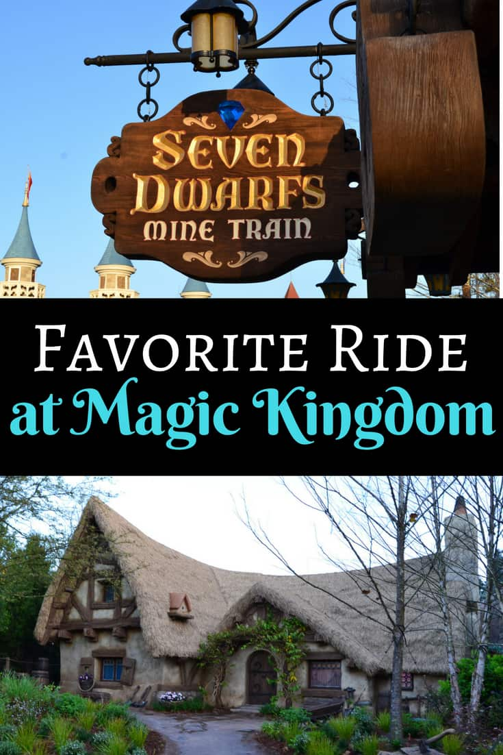 Seven Dwarfs Mine Train in Magic Kingdom
