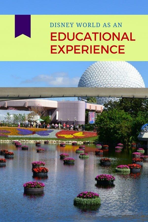 Disney World as an Educational Experience