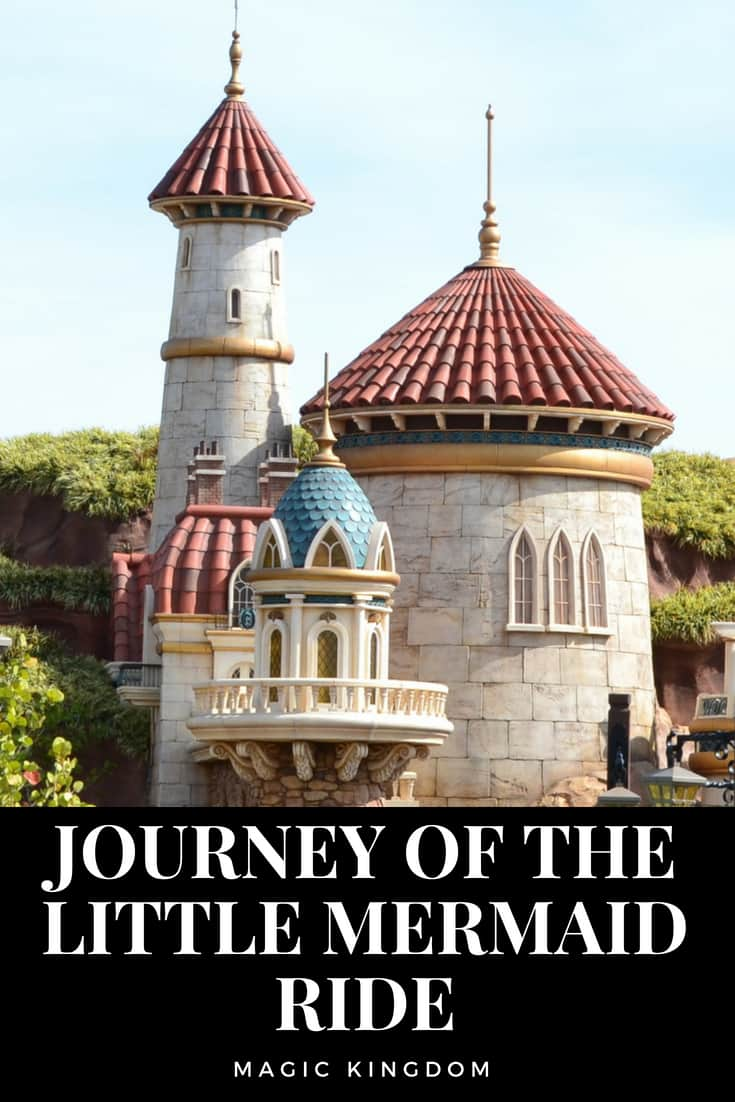 Journey of the Little Mermaid Ride