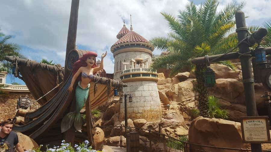 Journey of the Little Mermaid Ride in Magic Kingdom
