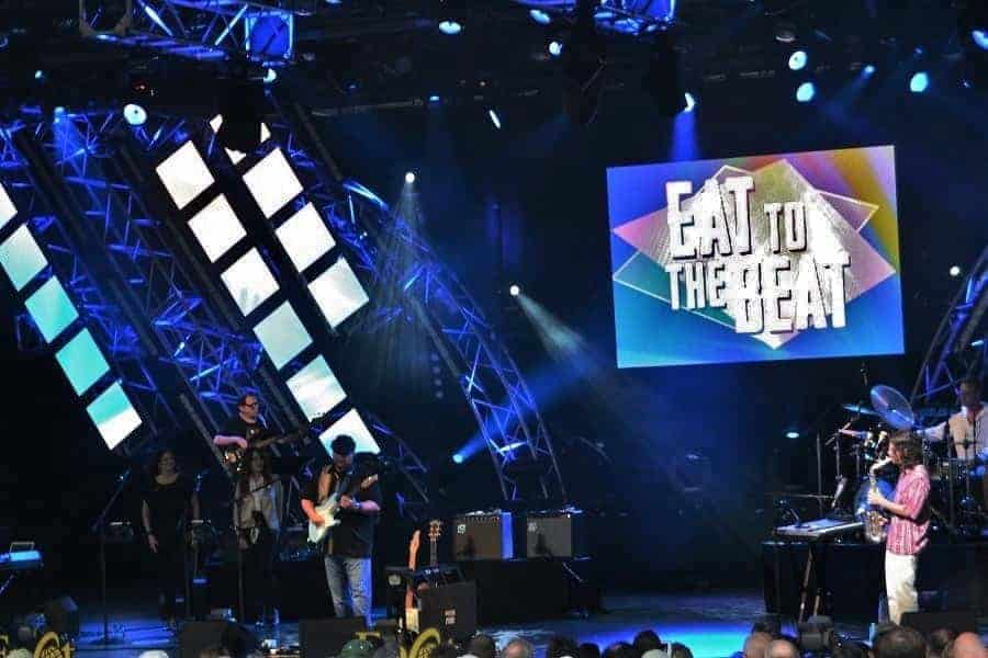 Eat to the Beat Concert Series Line Up for 2018