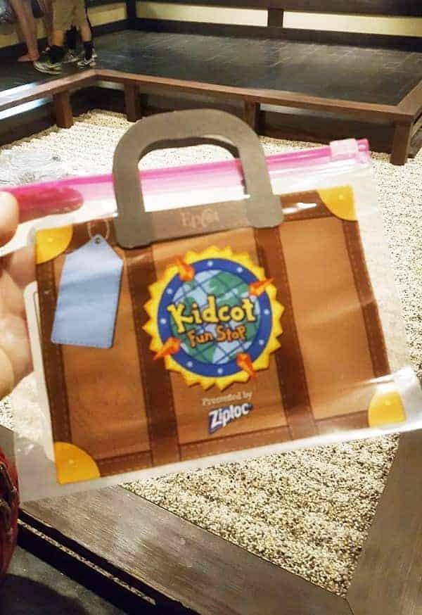 Kidcot Epcot Fun Spot Suitcase
