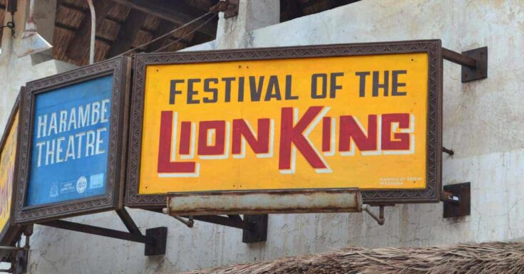 Watch the Festival of The Lion King Show