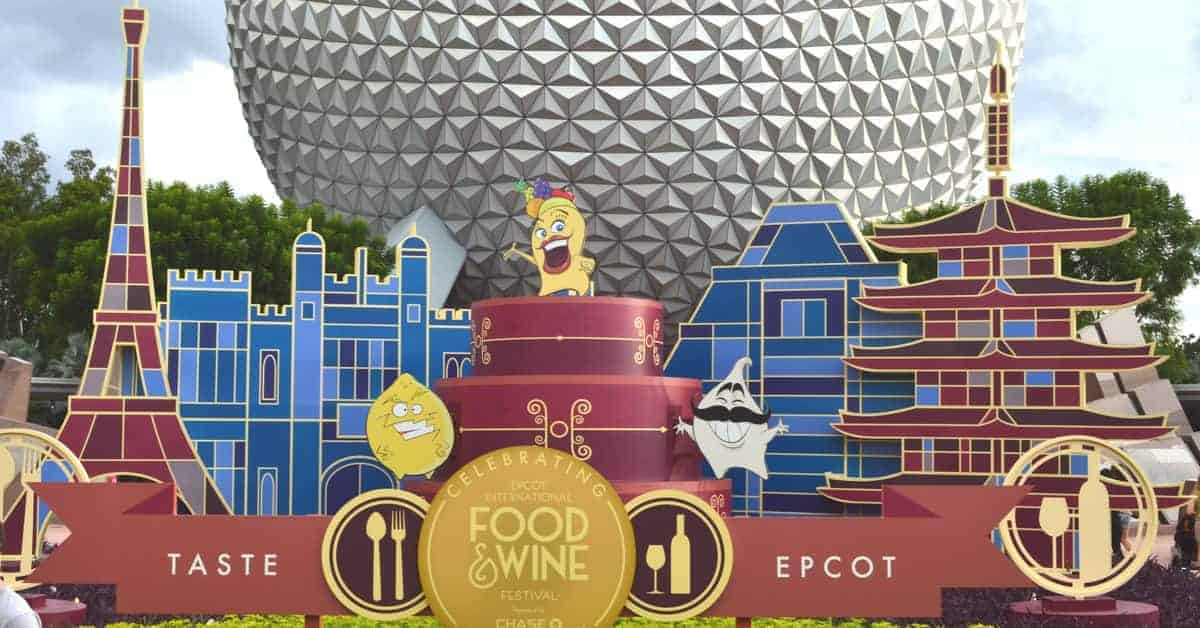 Food& Wine Festival in Epcot