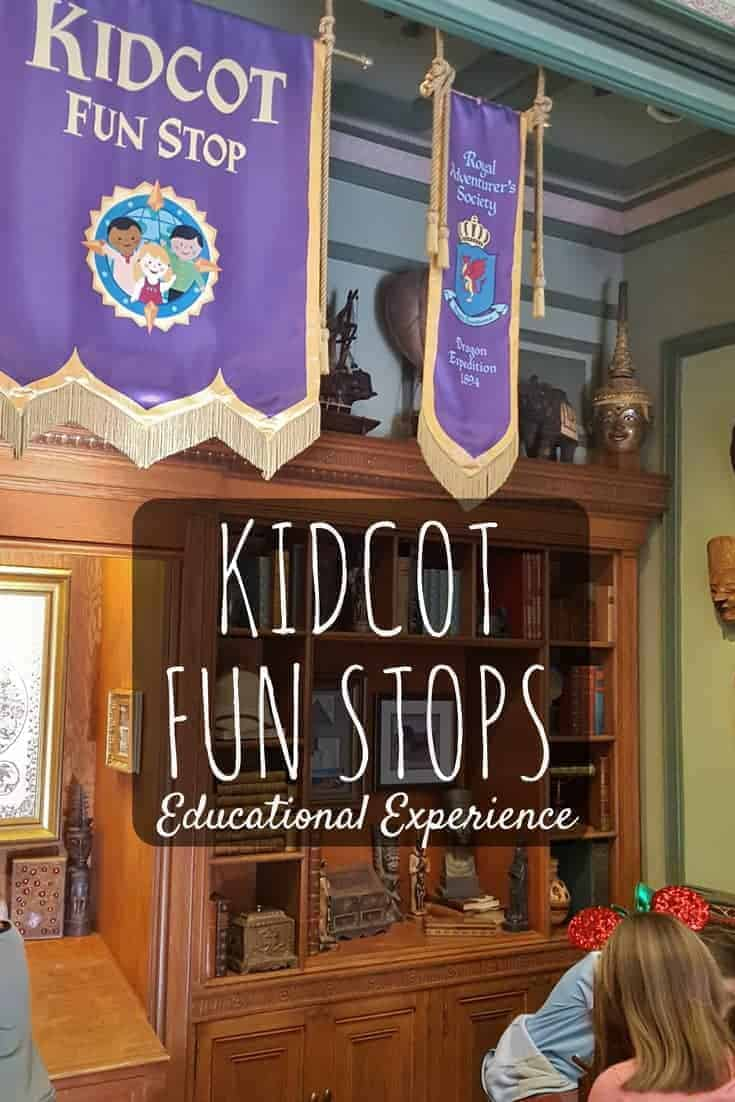 NEW Kidcot Epcot Educational Experience