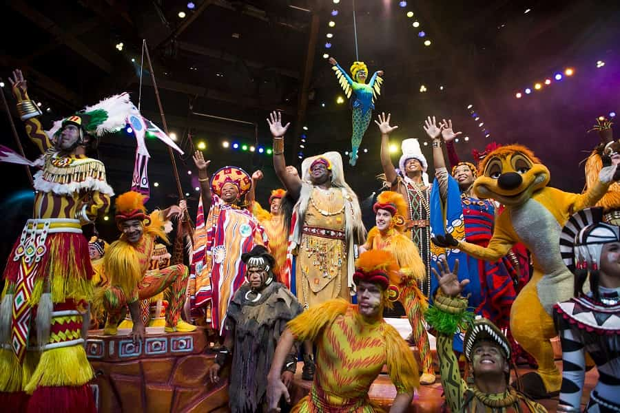 Lion King Show in Animal Kingdom