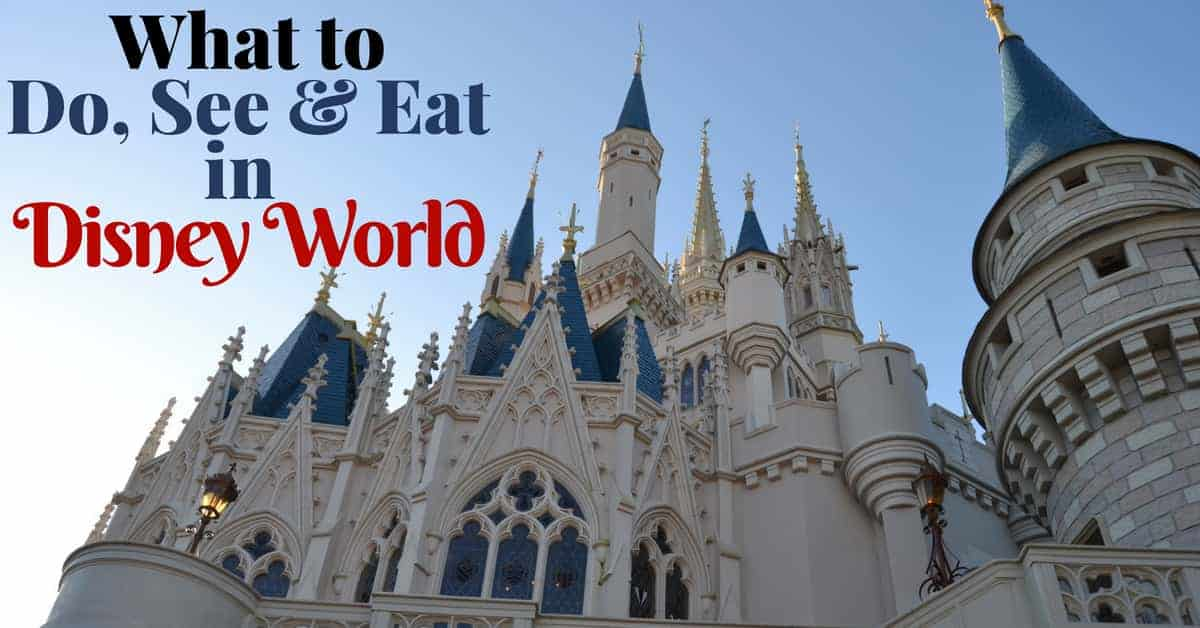 What to Do, See & Eat in Disney World
