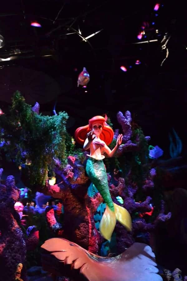 Under The Sea- Journey of the Little Mermaid Ride