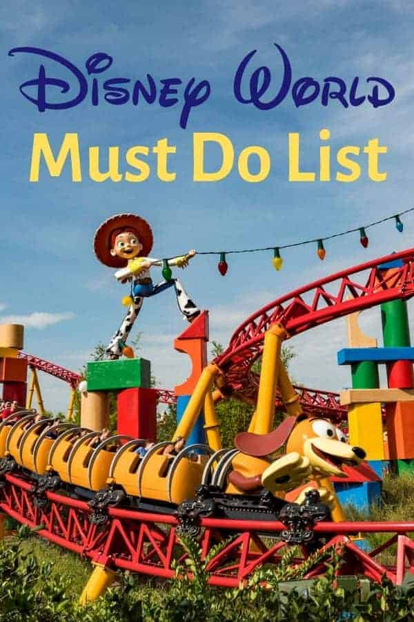 Things you MUST do at Disney World