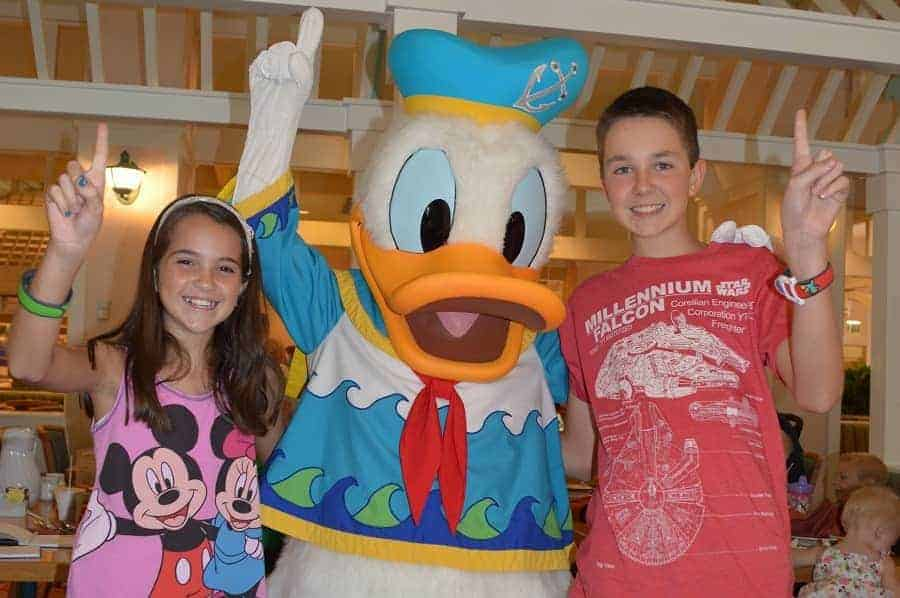 Meet Disney Characters at Cape May