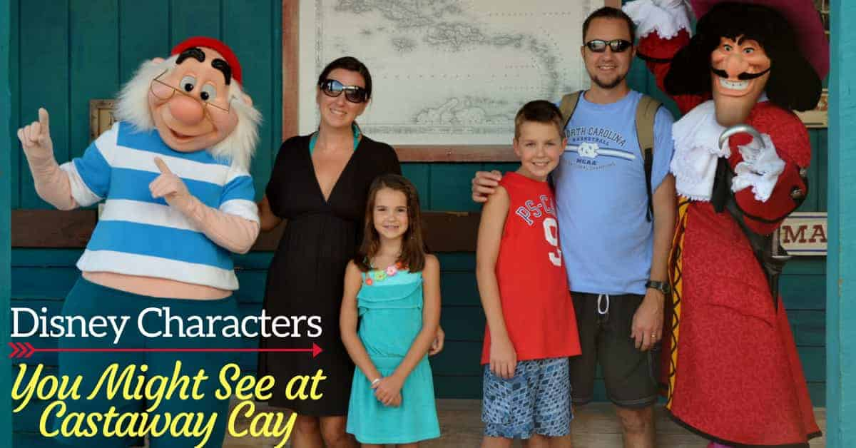 Which Characters You Might See at Castaway Cay