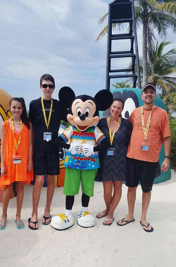 Where You'll Find Characters at Castaway Cay