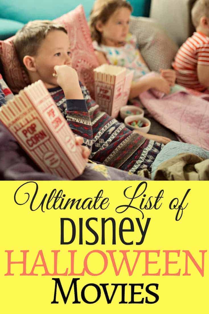 best disney halloween movies for families