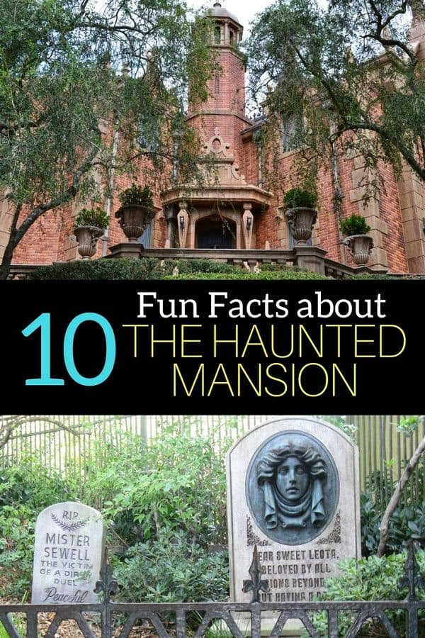 10 Disney World Haunted Mansion Facts you might not know