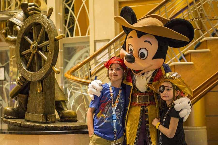 Mickey Mouse Pirate Meet & Greet