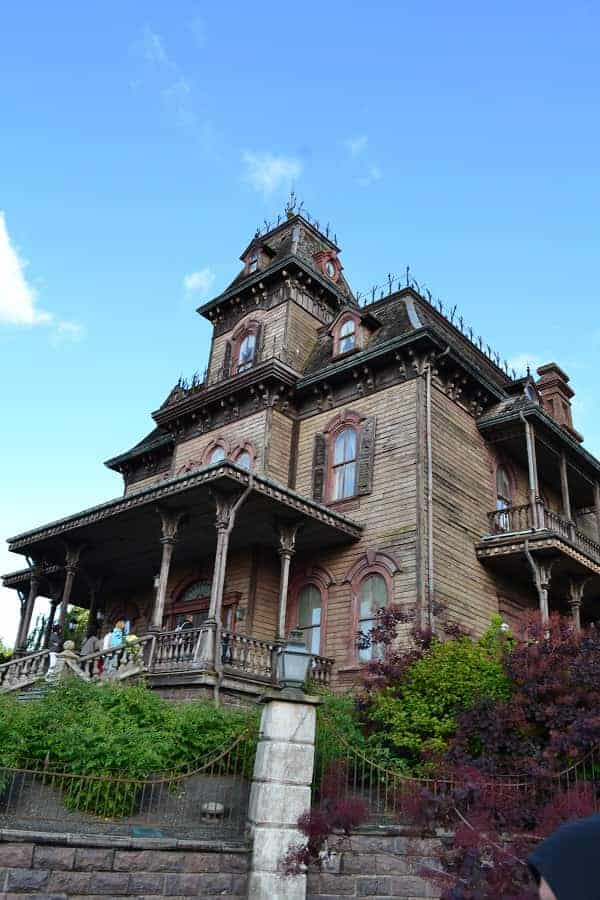 Phantom Manor in Disneyland Paris