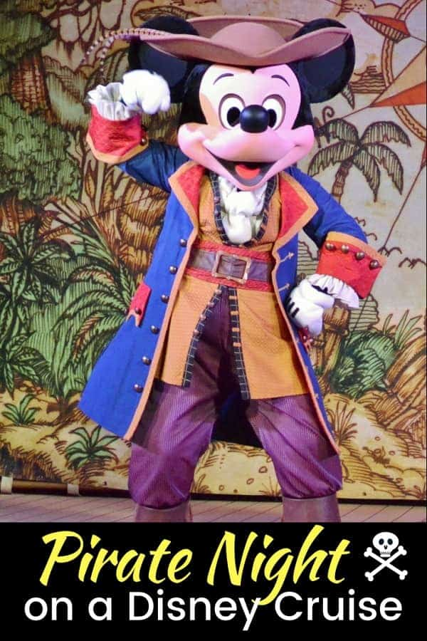 What to expect on Pirate Night on a Disney Cruise