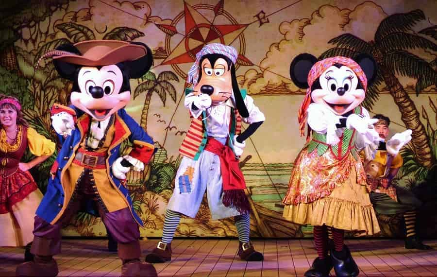 Pirate Party on a Disney Cruise