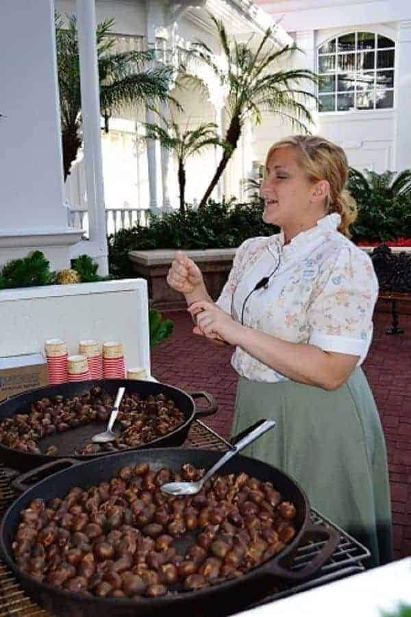 Roasting Chesnuts at Grand Floridian