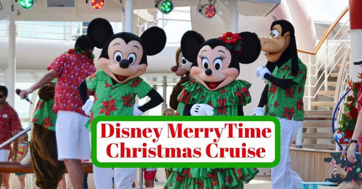 Disney Very Merrytime Christmas Cruise Tips