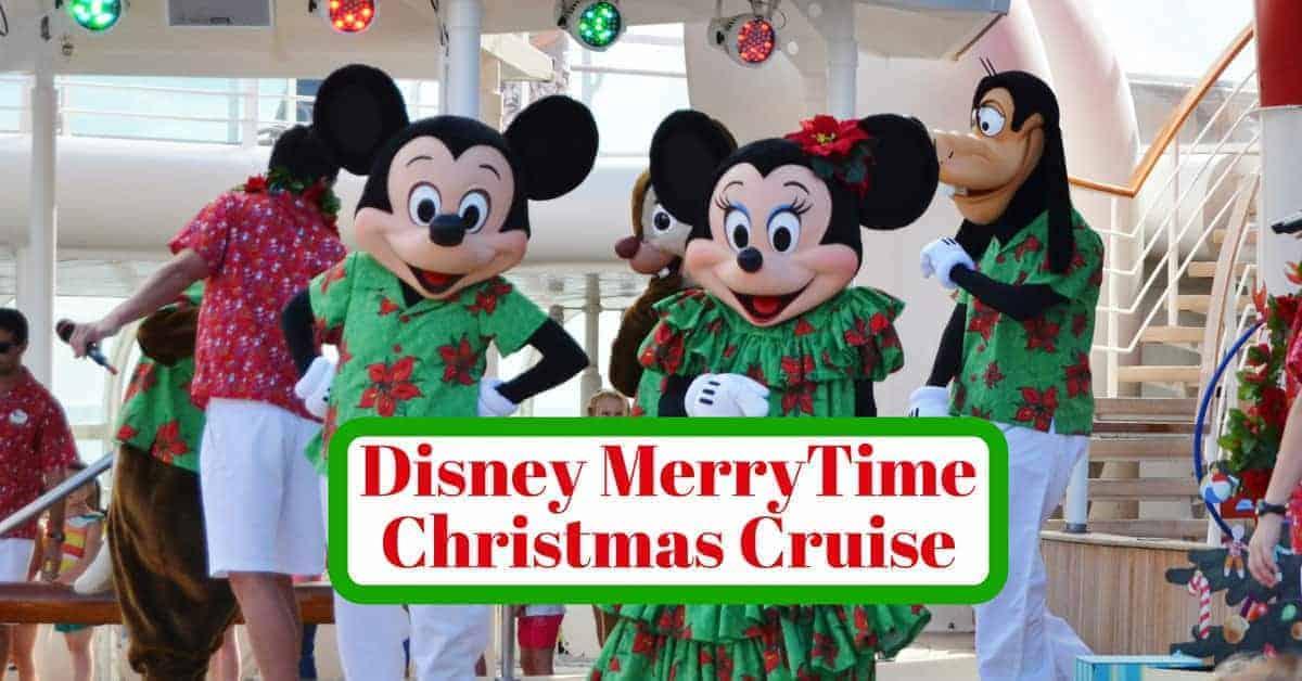 Disney Very Merrytime Christmas Cruise Tips