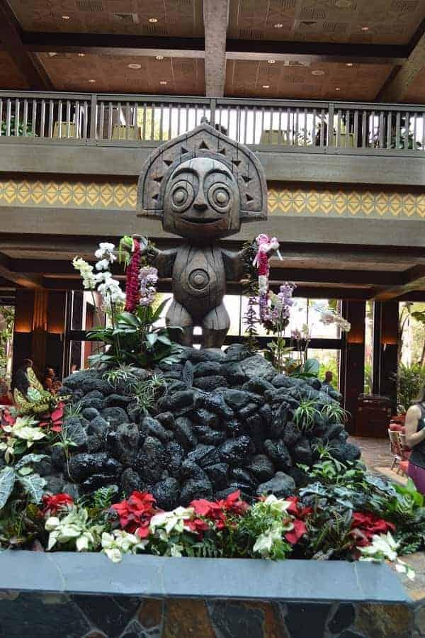 Christmas at the Polynesian Resort