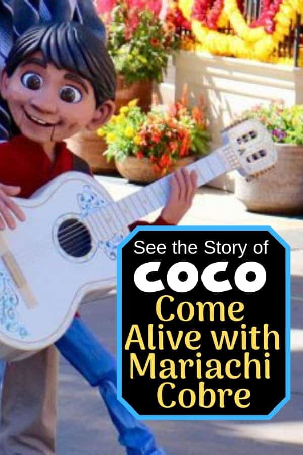 The Story of Coco Comes Alive with Mariachi Cobre