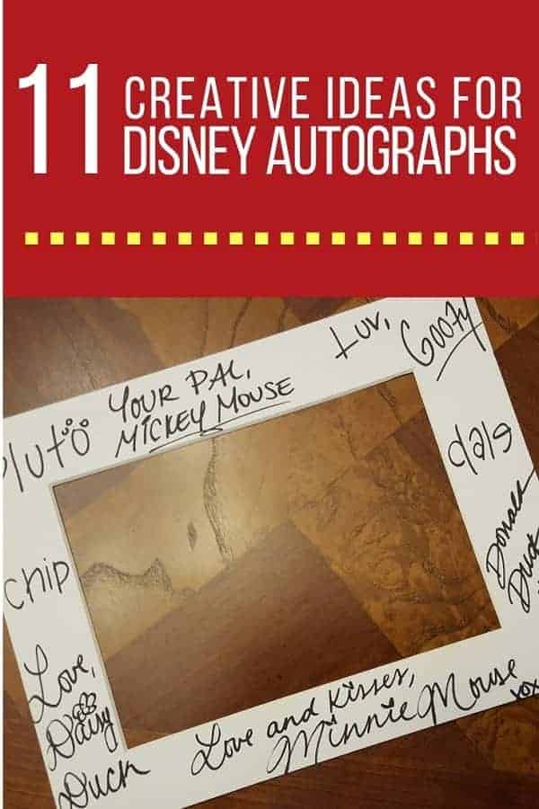 11 Creative Disney Autograph Ideas