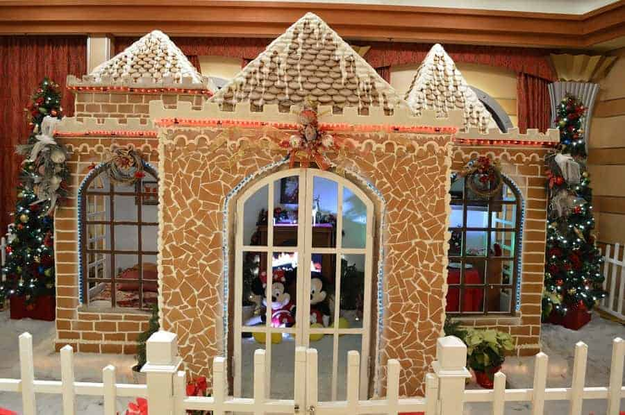 Gingerbread House on Disney Christmas Cruise