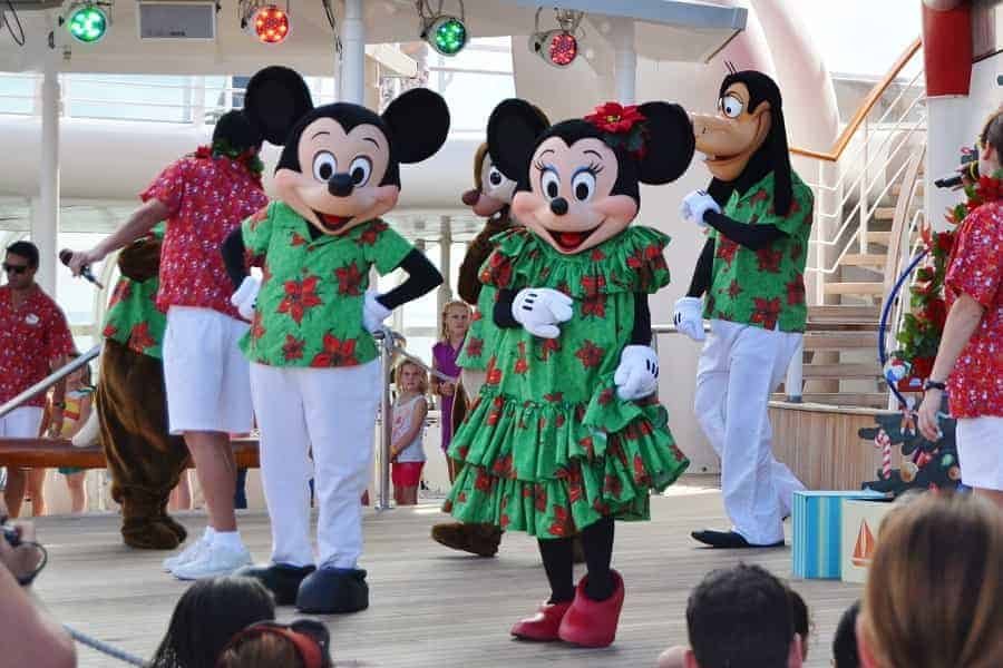 Disney Christmas Cruise Party
