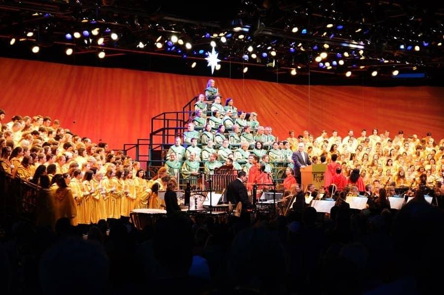 Epcot Christmas Processional