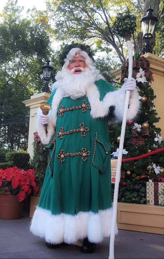 Father Christmas at Epcot