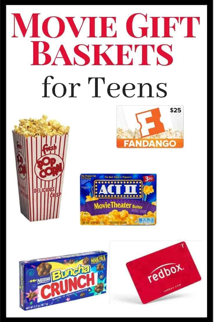 Christmas Gift Ideas for Teenage Girls & Boys: Movie Gift Baskets ...