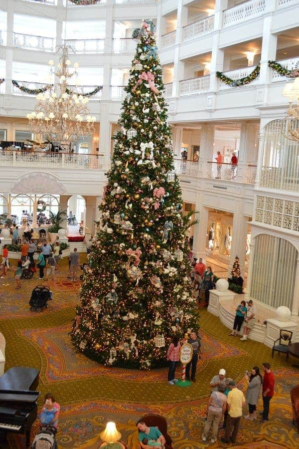 Grand Floridian Christmas Tree