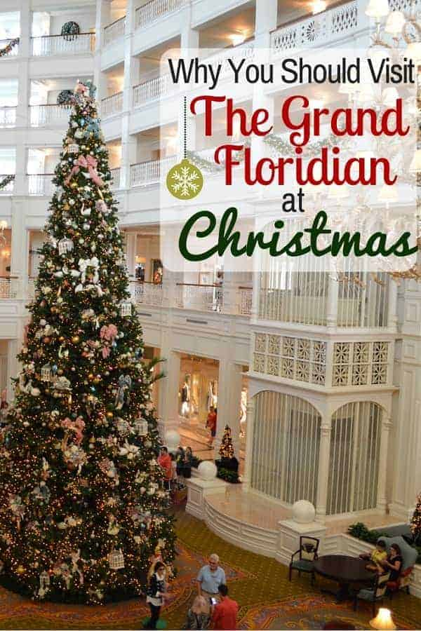Why You Should Visit Grand Floridian Resort at Christmas