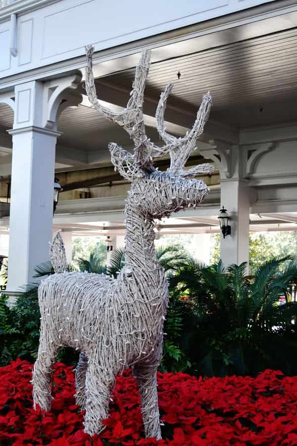 Grand Floridian Christmas Decorations in December