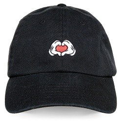 Mickey Mouse Heart Hands Baseball Cap