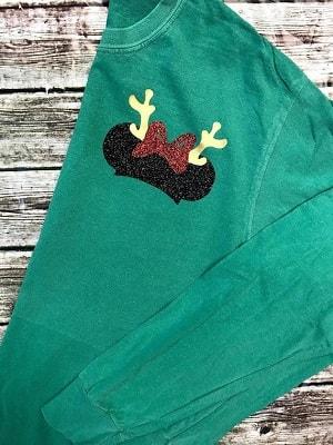 Minnie Christmas Shirts on Etsy