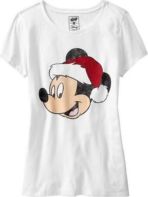Disney Christmas Shirts at Old Navy