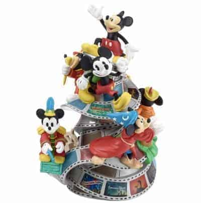 "Disney Mickey Mouse 90th Anniversary Figurine, ""Mickey The True Original"", Limited Edition"