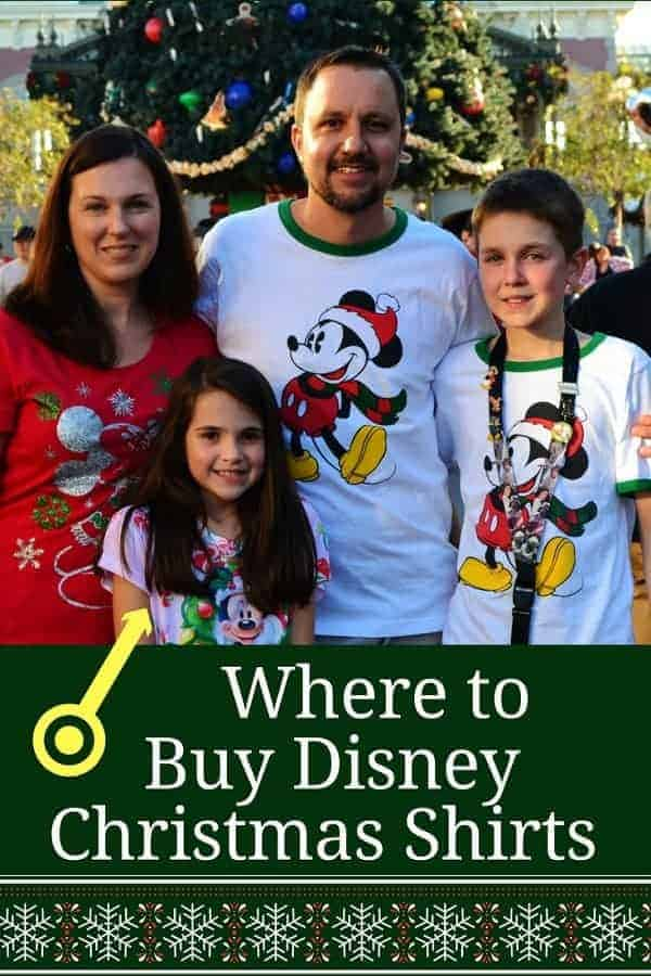 Where to Find Disney Christmas Shirts