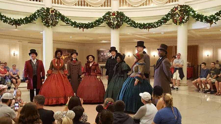 Voices of Liberty at Christmas in Epcot