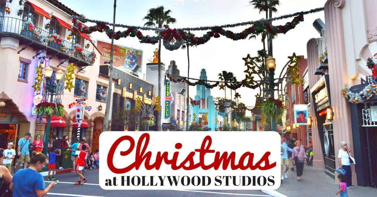 What You'll find at Hollywood Studios at Christmas