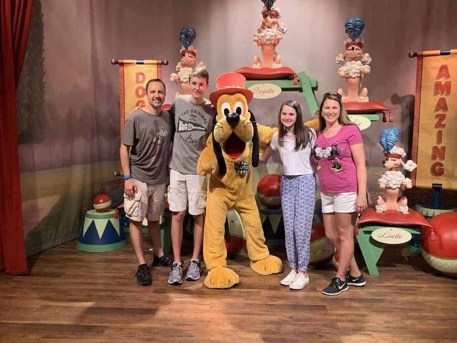 Pluto Meet & Greet at Magic Kingdom