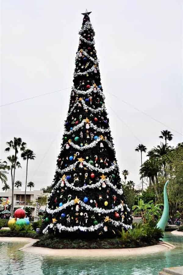 Christmas Tree at Hollywood Studios at Christmas
